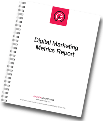 digital marketing metric report marketing services