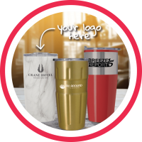 print services promotional products tumblers